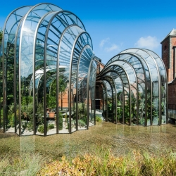 Bombay Sapphire Distillery at Laverstoke Mill by Thomas Heatherwick.