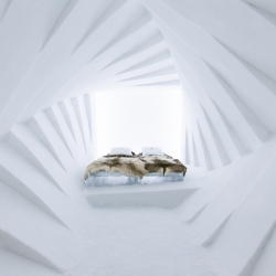 The ICEHOTEL in Jukkasjärvi has celebrated its silver anniversary opening its reindeer clad doors for the twenty-fifth time.