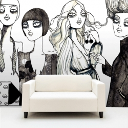 Your Wallpaper is launching a new collection of wallpapers with Sweden's most famous designers and illustrators!