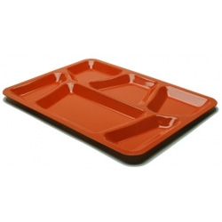 An exact replica of the trays used in New York's most notorious prison, the Sing Sing Tray will keep your peas and corn separate.