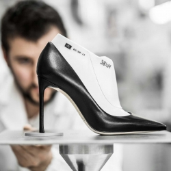 "Savoir-faire: The Making of 'Dioressence' pumps - ""A touch of color is enough to change your appearance,"" wrote Christian Dior in his Little Dictionary of Fashion."