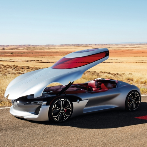 Renault has unveiled Trezor – an all-electric Grand Tourer concept car that blends Renault's warm, simple and sensual lines with the very latest innovations in interior experience, all-electric powertrain and autonomous driving.
