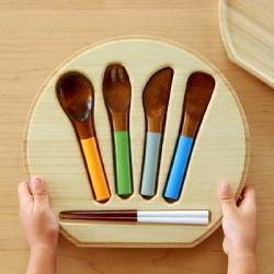 Co Zen, Urushi cutlery made for kids!