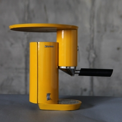 Here's an espresso machine from the Shenkar College of Engineering and Design, this time by Israeli industrial design student Yaniv Berg.