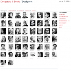 Designers & Books is devoted to publishing lists of books that esteemed members of the design community identify as personally important, meaningful, and formative.