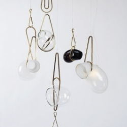 Lindsey Adelman's modular hanging lights are a fresh take on lighting and are now hanging at E.R. Butler in Soho.