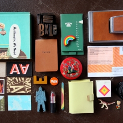 Designer 'Peep Show' series profiling each team member and a peep peek into the things they carry, eat, sleep with, and can't leave home without.