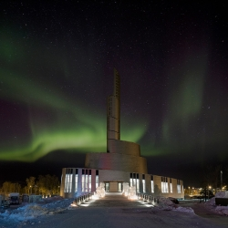 Cathedral of the Northern Lights in Alta by SHL – Schmidt Hammer Lassen architects.