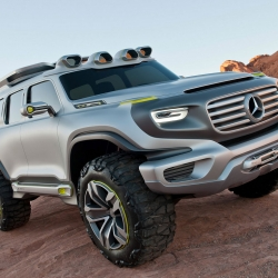 Mercedes-Benz will present the  Ener-G-Force Highway Patrol Vehicle concept next week at the 2012 Los Angeles motor show.