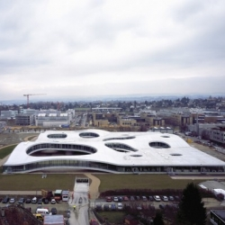 Amazing new Rolex Learning Center in Lausanne, by renowned architects SANAA. Check out the video at the bottom.