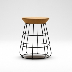 New Zealand design studio Timothy John has created the 'Sidekick Stool' in exclusive for Thanks Store.
