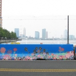 The Alliance for Downtown New York came up with The Re:Construction Initiative, a project which recasts construction sites as canvases for public art.