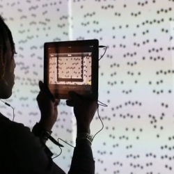 The official video from Microsoft has been released! They explore the innovative Tag: We're It art installation by artists Lisa Kaselak and Lee Billington