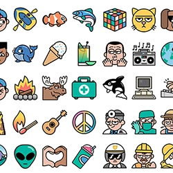 It's Nice That interviews Dan Woodger - who created 1000 brilliant emoji in over 1000 hours!