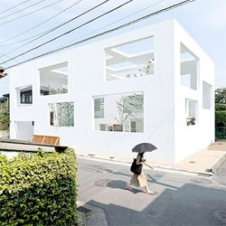 House N by Sou Fujimoto Architects - love the blurred boundaries between interior and exterior spaces.