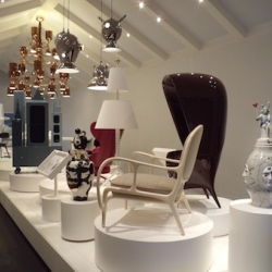 """Moving Ideas"", the latest exhibition about Spanish designer and artist Jaime Hayon in Paris."