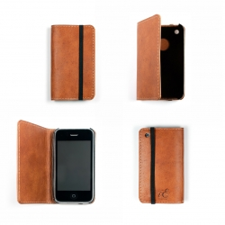 iErnest, Hemingway's preferred choice in leather iPhone wallets.