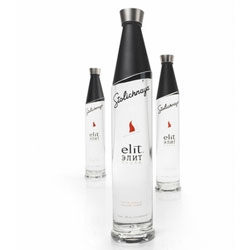 Nice packaging by Interbrand for Stolichnaya's Elit brand.