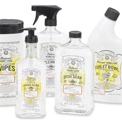 J.R. Watkin's natural cleaning products with gorgeous packaging.