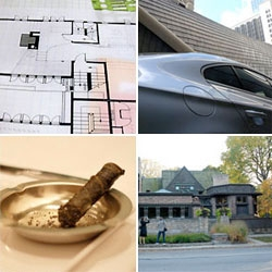 I was in Chicago with Volkswagen and saw the 2009 CC - the experience included a 20-course dinner at molecular gastronomy restaurant Moto, and a visit to Frank Lloyd Wright's home and studio!