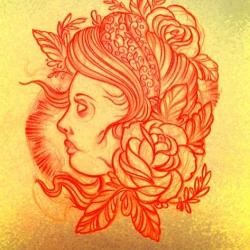 Beautiful illustrations by Brazilian-born and Brooklyn-based tattoo artist Gustavo Rizerio at Tattoo Culture.
