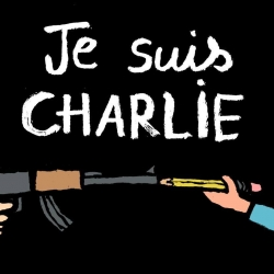 #jesuischarlie | The creative support of Jean Julien and many other artists of the Charlie Hebdo drama in Paris.