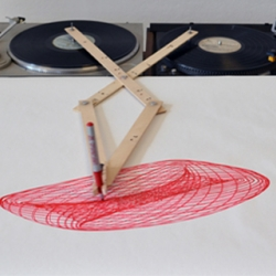 Drawing Apparatus by Robert Howsare | The American designer presents a new drawing tool.