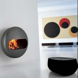 Bubble fireplace. italian designed