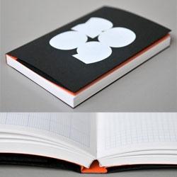 Peter & Johanna Biľak's Pocket calendar/sketchbook, published by Typotheque.