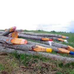 Environmental art in Finland by Jonna Pohjalainen.