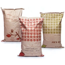 Beautiful bird seed bags for All Season Wild Bird Store by Imagehaus.