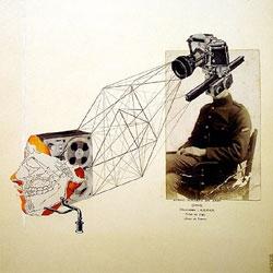 Love Eva Eun-Sil Han's collage prints.