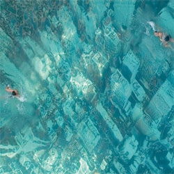 The Mumbai branches of HSBC and Ogilvy & Mather created an ad campaign (and a poorly functioning website) to raise awareness of the dangers of global warming by submerging an aerial view of a city to the base of a swimming pool.