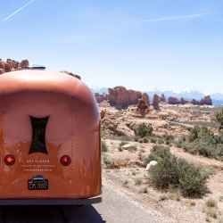 """The Copper Studio is a mobile boutique touring the US this summer to """"roll out"""" the Kit + Ace brand.  This is the latest venture from Lululemon founder Chip Wilson."""