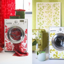 LG teams up with Designers Guild in the UK to create these stunning designer washing machines!