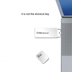 it is not the shortcut key!!!
