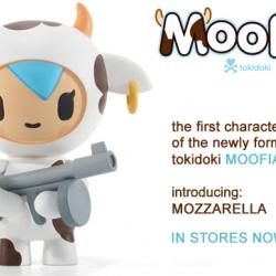 meet mozzarella.  the first of tokidoki's 'moofia'.