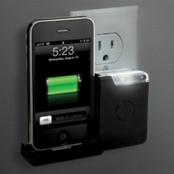 Scosche has released a new alternative for charging both the iPhone and the iPod, it includes a built in light that illuminates in the dark, so you can always find your phone.