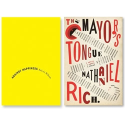 The Book Design Review posts the covers of some of the best designed books of 2008.