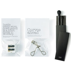 Loving the minimalist simplicity of Gee Beauty's packaging, by GJP.