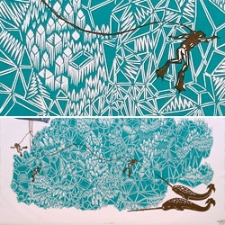 Love this amazing print by Tugboat Printshop.