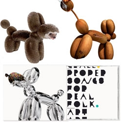 Non-Format designed three different album covers for The Chap in 2008 - I like the consistent use of balloon animals rendered atypically.
