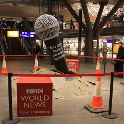 BBC Big Mic in Berlin Station