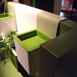 'Kubes' balcony gardening system by French designers Noémie Royer and Lorraine Thirion for MSV.