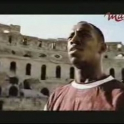 Weird and creepy Nike commercial narrated in Italian where soccer stars such as Ronaldo, Kluivert and Maldini among others, do battle in the Roman Coliseum against the forces of evil. The ad, albeit creepy, is very entertaining.