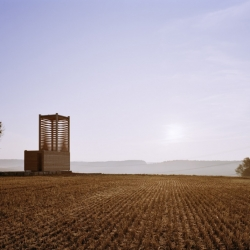 Two wonderful wood chapels: in Poland by beton and in Germany by students of the IIT.
