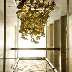 Kismet by Bita Fayyazi installed at Fabrica