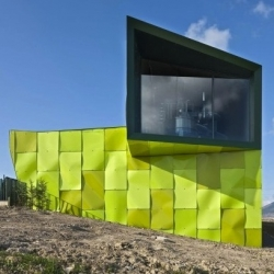 Urban Solid Waste Collection Central in Huarte - Spain by Vaillo + Irigaray.