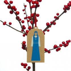 An embodiment of less is more, bring the aesthetics of the ascetic to your Christmas tree this year with the GraphicDesign& Three Wise Women!