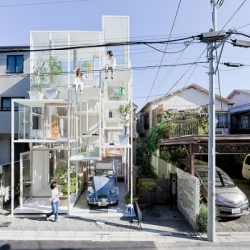 The house like no other. Straight out of fairytales, a house popped up in Tokyo. Sou Fujimoto's small and minimalist construction takes the name 'House NA'.
